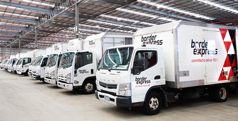 border express truck depot